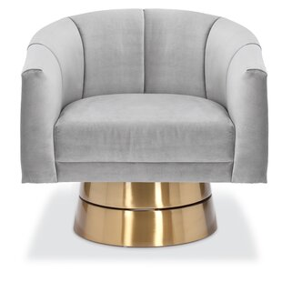 Lafrance Swivel Barrel Chair