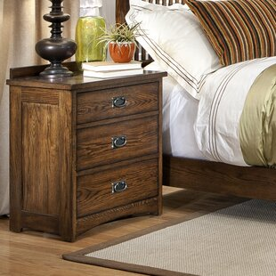 Boehme 3 Drawer Nightstand by Foundry Select