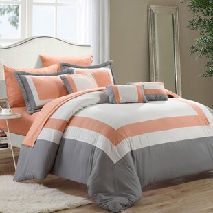 Chenard 10 Piece Bed-In-A-Bag Comforter Set by Charlton Home