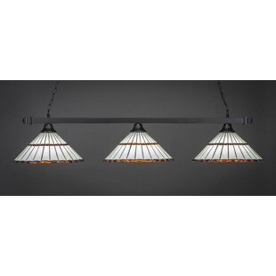 Ankeny 3-Light Billiard Island Pendant by Red Barrel Studio