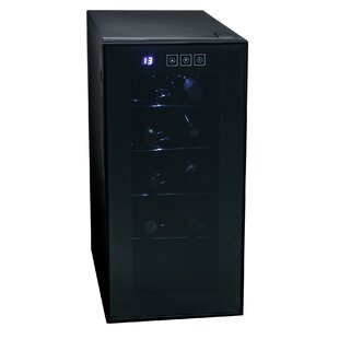 10 Bottle Single Zone Freestanding Wine Cooler
