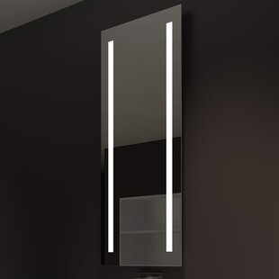 Best Reviews Lency Modern Illuminated Bathroom / Vanity Mirror By Orren Ellis
