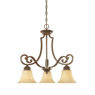 Goolsby 3-Light Shaded Chandelier by Fleur De Lis Living