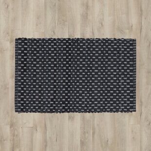Best Price Aberdeen Black Area Rug By Bungalow Rose