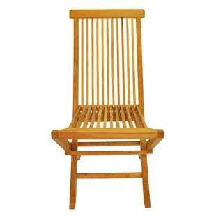 Classic Folding Teak Patio Dining Chair