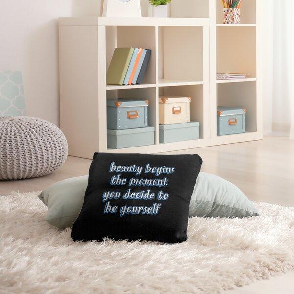 East Urban Home True Beauty Throw Pillow Wayfair