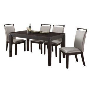 Wimbish 5 Piece Dining Set Latitude Run