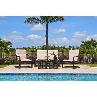 Palms 5 Piece Sunbrella Sofa Set by Outdoor Masterpiece