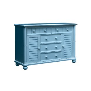 Friedrich 5 Drawer Combo Dresser by Highland Dunes