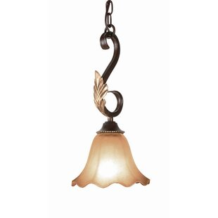 Astoria Grand Rowanna 1-Light Bell Pendant