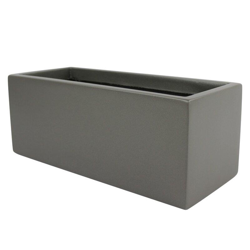 Sol 72 Outdoor  Barclay Rectangle Fiberglass Planter Box