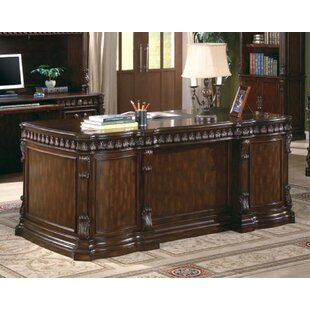Callisburg Executive Desk by Fleur De Lis Living Best #1
