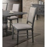 Drane Side Chair in Weathered Gray (Set of 2) by August Grove®