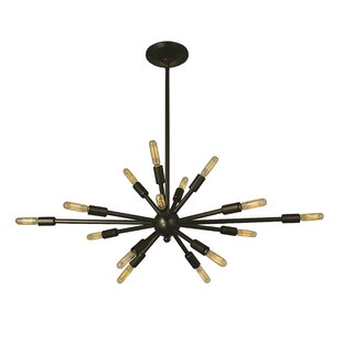 Framburg Simone 16-Light Sputnik Chandelier