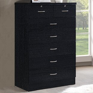 Compare prices Bouldin 7 Drawer Chest by Zipcode Design