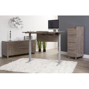 Ebern Designs Afton Configurable Office Set