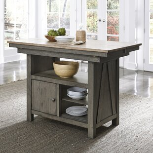 Lovitt Kitchen Island Gracie Oaks