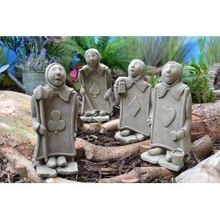 4 Piece Deasia Statue Set Image