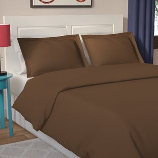 Patric 100% Egyptian-Quality Cotton Duvet Cover Set
