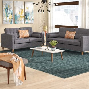 Venters 2 Piece Living Room Set