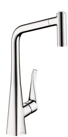 Metris Pull Out Single Handle Kitchen Faucet