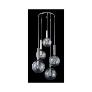 Bubbles 5-Light Pendant by Sonneman