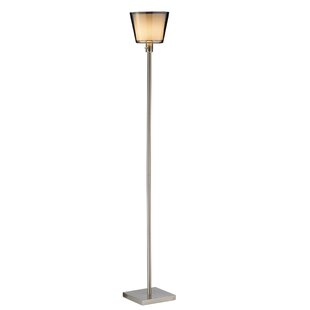 Read Reviews Prescott Tall 71.75 Torchiere Floor Lamp By Adesso