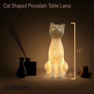 Affordable Drakes Porcelain 12.2 Table Lamp By Harriet Bee