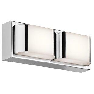 Orren Ellis Cunningham 2-Light LED Bath Bar