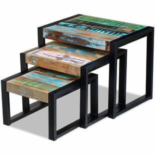 Top Reviews Thorton 3 Piece Nesting Tables by Williston Forge