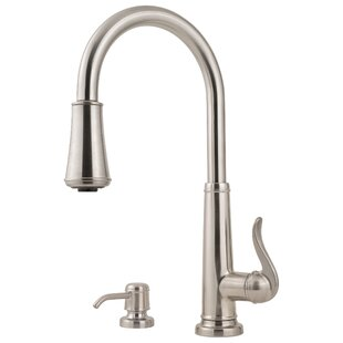 Pfister Ashfield Pull Down Single Handle Kitchen Faucet