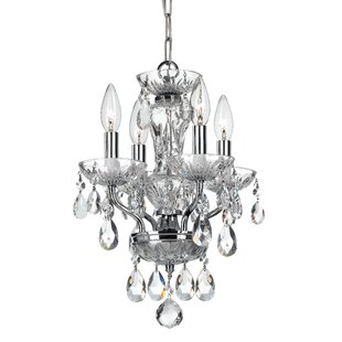 Catchings 10-Light Crystal Chandelier by House of Hampton