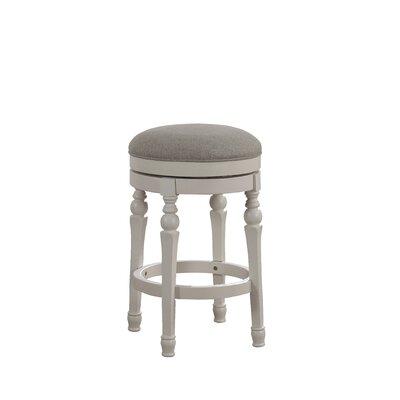 Miraculous August Grove Caulders 26 Swivel Bar Stool Bralicious Painted Fabric Chair Ideas Braliciousco