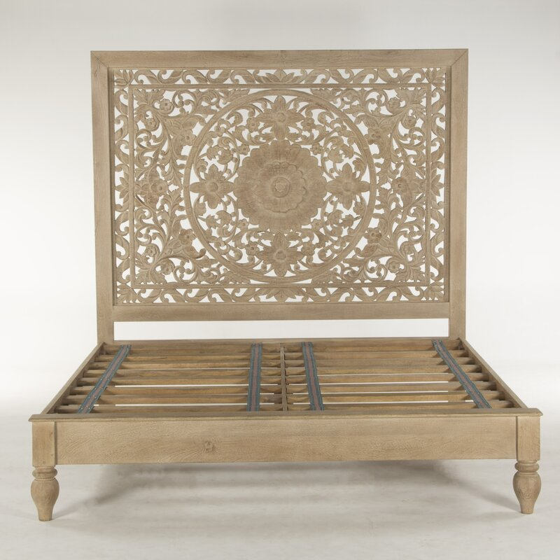 World Interiors Haveli King Platform Configurable Bedroom Set ...