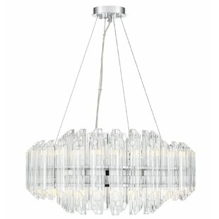 Price Check Seymour 16-Light Crystal Chandelier By Everly Quinn