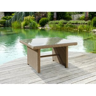 Rocha Resin Wicker Dining Table Image