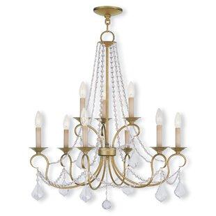 Willa Arlo Interiors Devana 9-Light Candle Style Chandelier