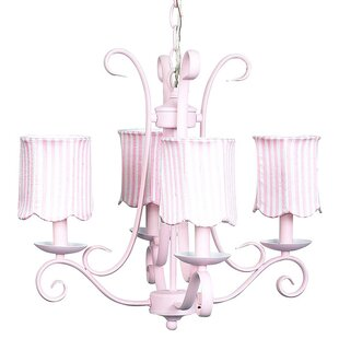 Jubilee Collection Harp 4-Light Shaded Chandelier