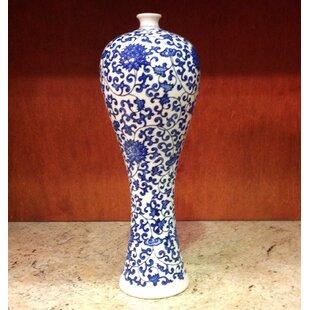 Otsego Floral Porcelain Slender Beauty Table Vase