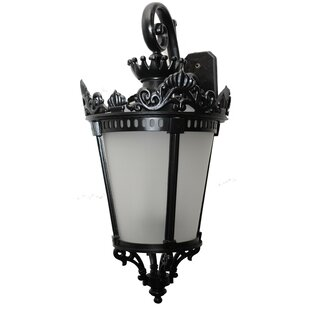 Pierron 3-Light Outdoor Wall Lantern