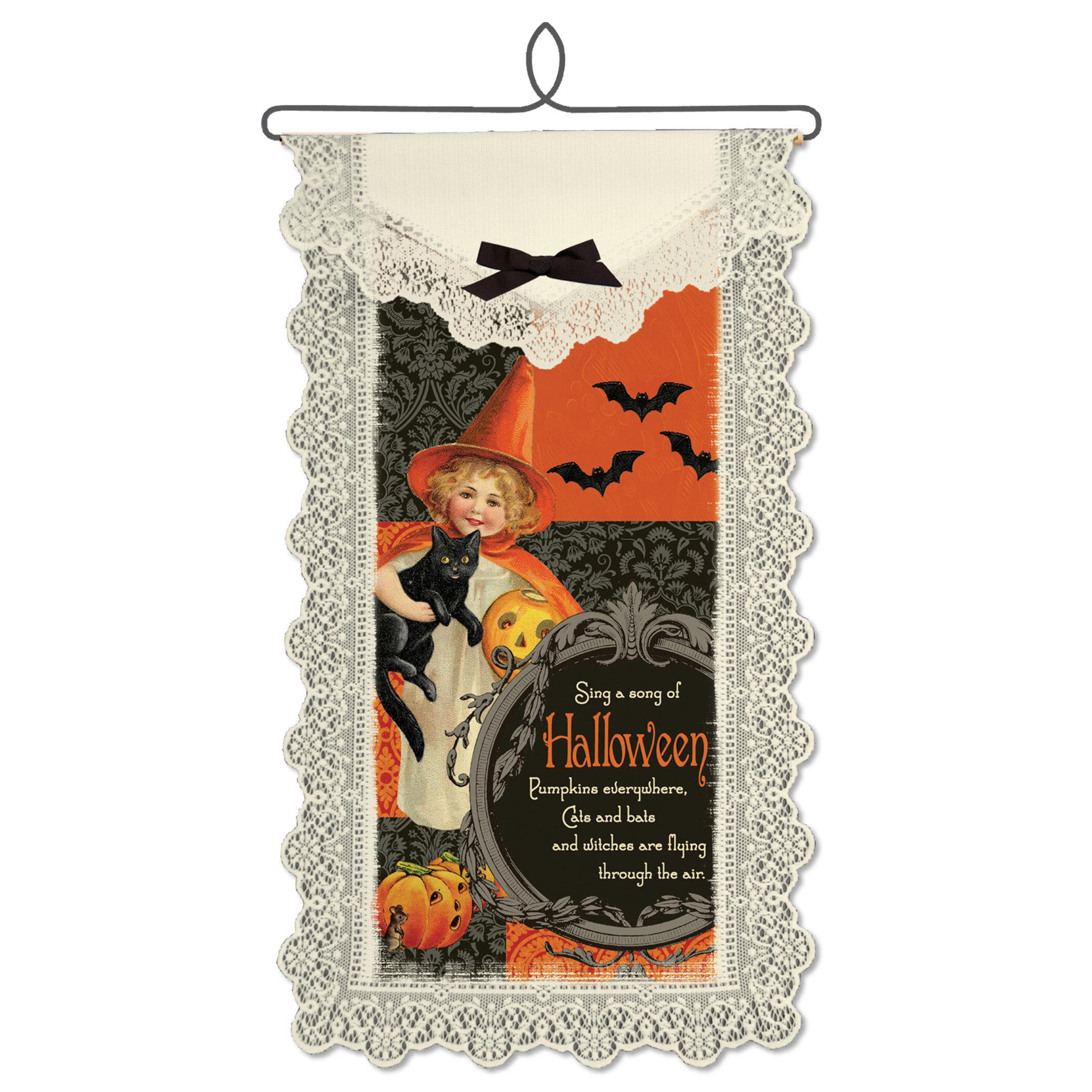 The Holiday Aisle Song Of Halloween Wall Hanging Wayfair