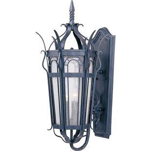 Astoria Grand Samanda 3-Light Outdoor Sconce