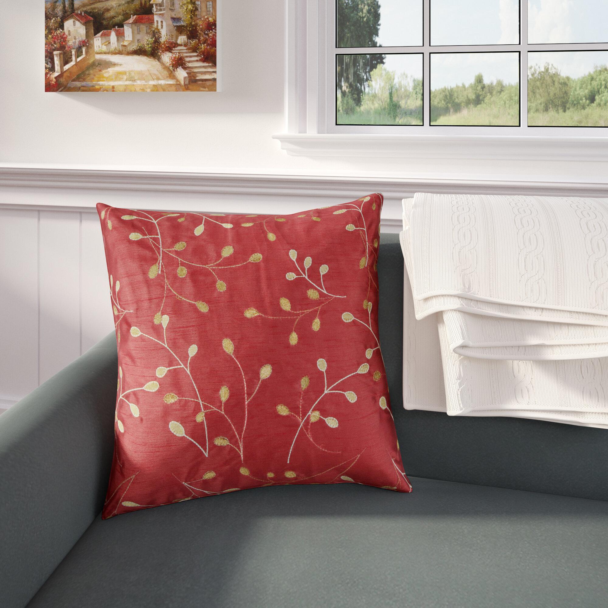 Andover Mills Emil Floral Pillow Cover Reviews Wayfair