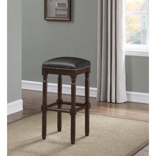 Mickelsen Backless Square Bar Stool by Alcott Hill