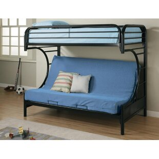 Hanish Twin Over Full Futon Bunk Bed