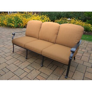 Bosch Deep Seating Sofa With Cushion by Darby Home Co Fresh