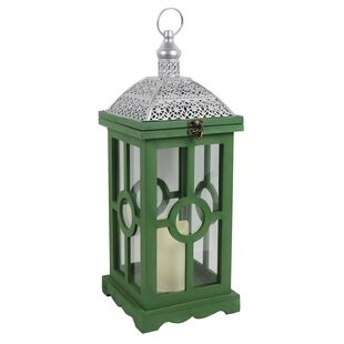 Bungalow Rose Wood Lantern