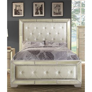 Ligia Upholstered Panel Bed