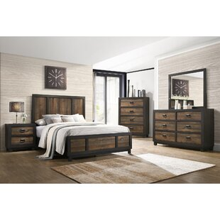 Llewellyn Panel 5 Piece Bedroom Set