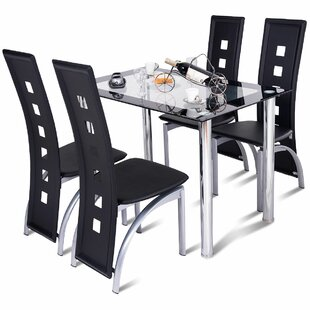 Ainsley Home Breakfast Kitchen 5 Piece Dining Set